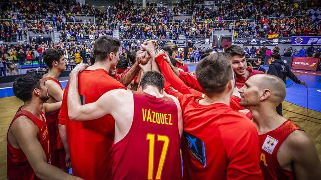 Día y hora de los partidos de España en la Copa del Mundo de Baloncesto FIBA