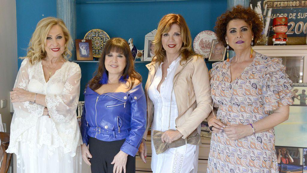 Loles León, Rosa Benito, Belinda Washington e Irma Soriano: primera cena de mujeres en 'Ven a cenar conmigo, Gourmet Edition'