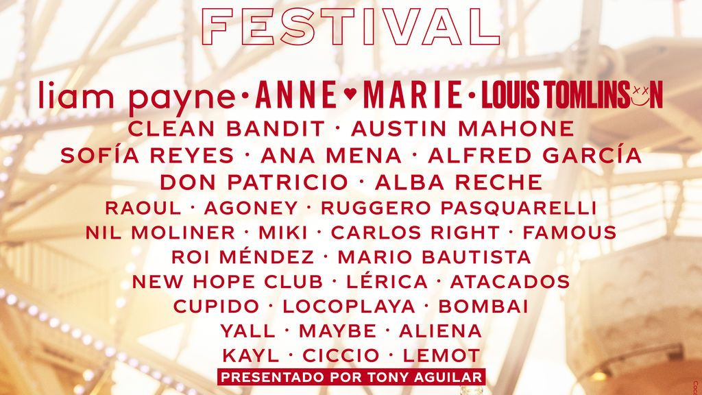 Viva el #CCME: Liam Payne se une a nuestro cartelazo y más novedades