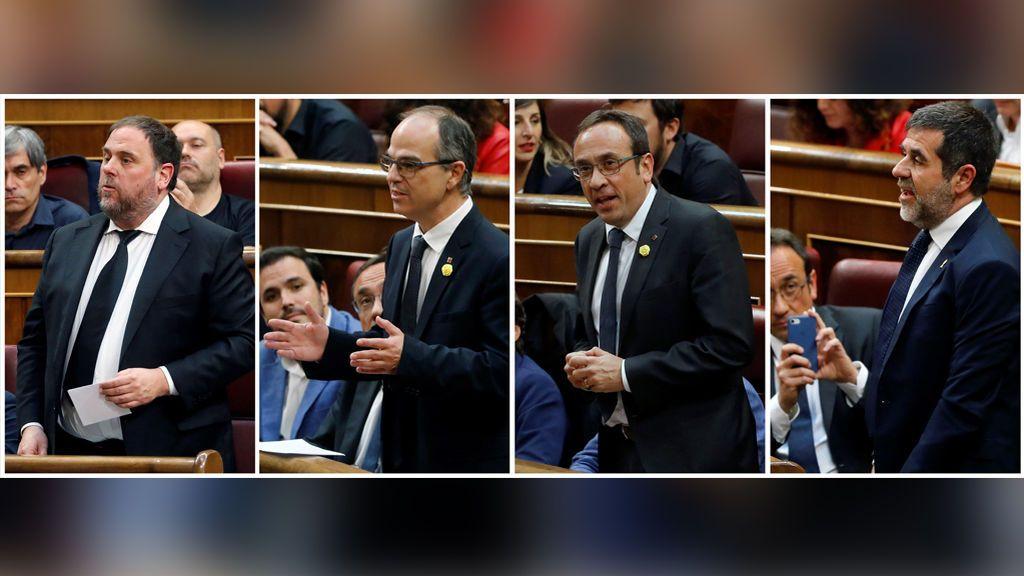 Los derechos que pierden los diputados independentistas suspendidos