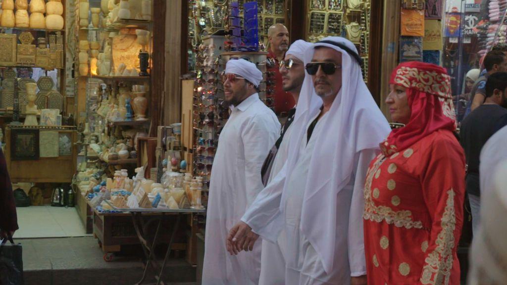 Los Fernández Navarro se mimetizan con la cultura egipcia