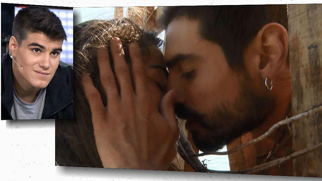 La reacción de Julen al ver los besos de Violeta y Fabio