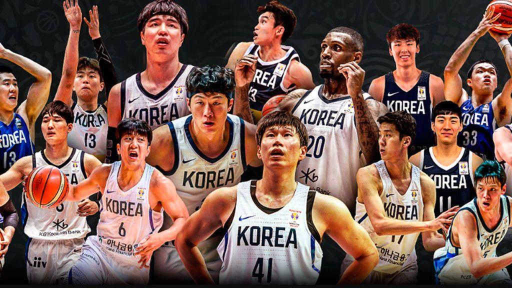 Mezcla de veteranos con estrellas jóvenes en la prelista de Corea para la Copa del Mundo FIBA
