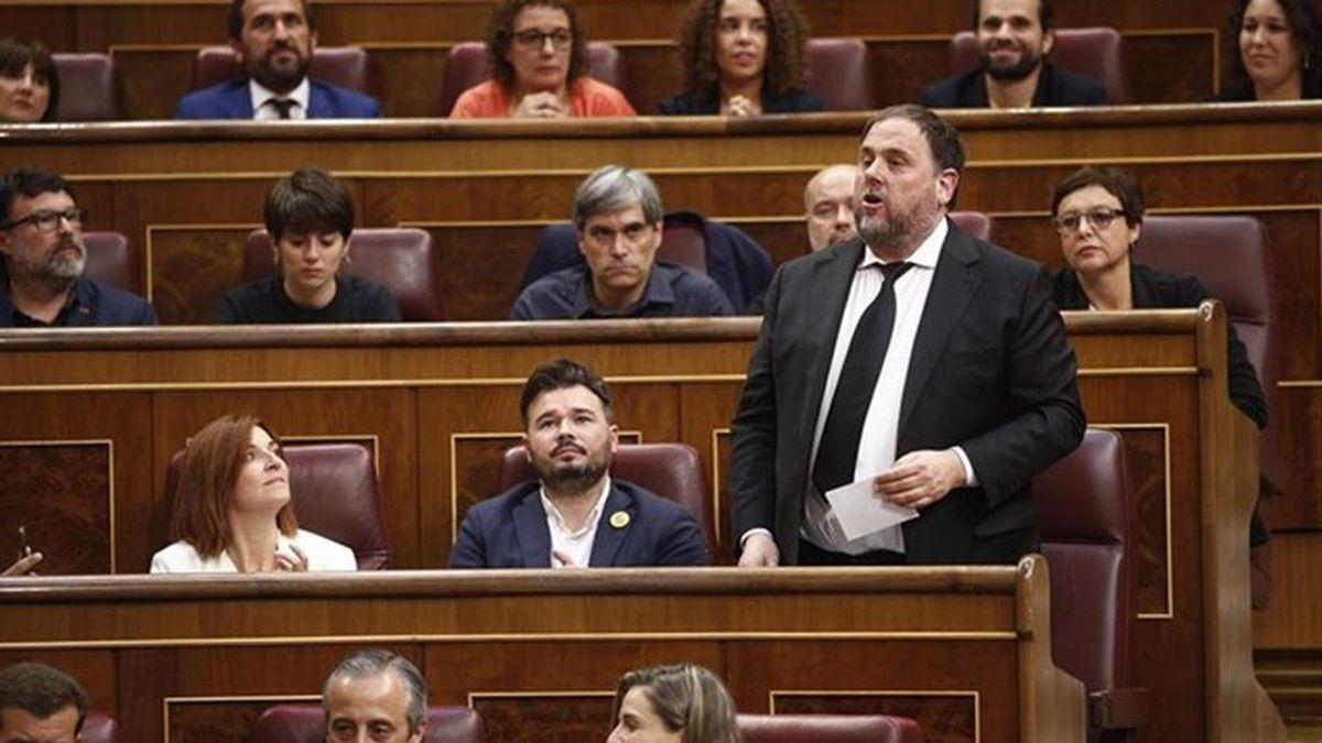 ERC pide a la Mesa del Congreso que se replantee la suspensión de los diputados Junqueras, Rull,  Sànchez y Turull