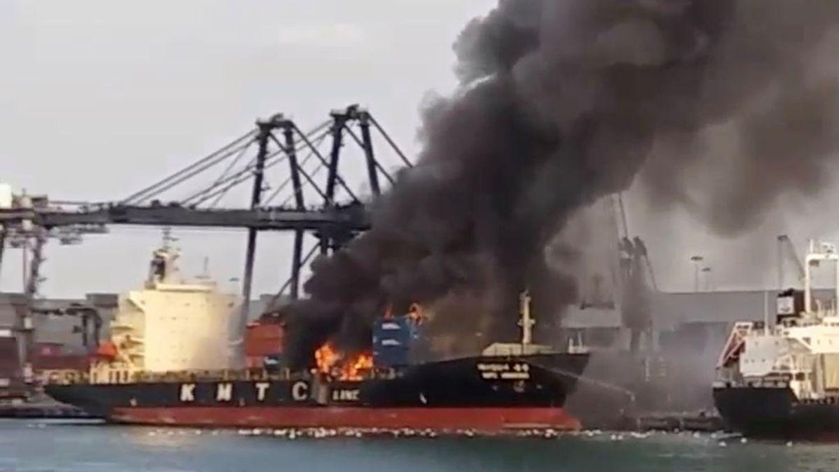 Más de 130 hospitalizados en Tailandia por una explosión química en un carguero surcoreano
