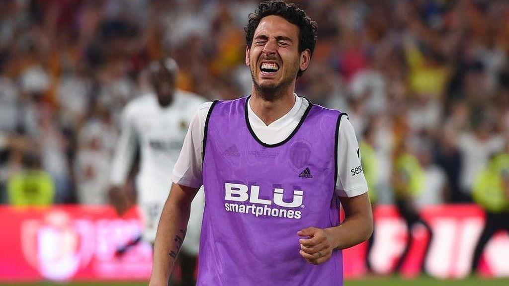 Emocionante: Las lágrimas de Parejo tras cosechar la Copa del Rey en el año del Centenario