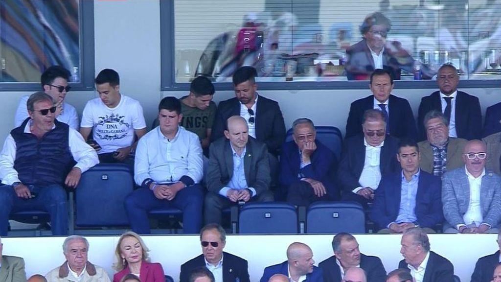 Todas las caras conocidas en Valdebebas para ver el Real Madrid Castilla-Cartagena