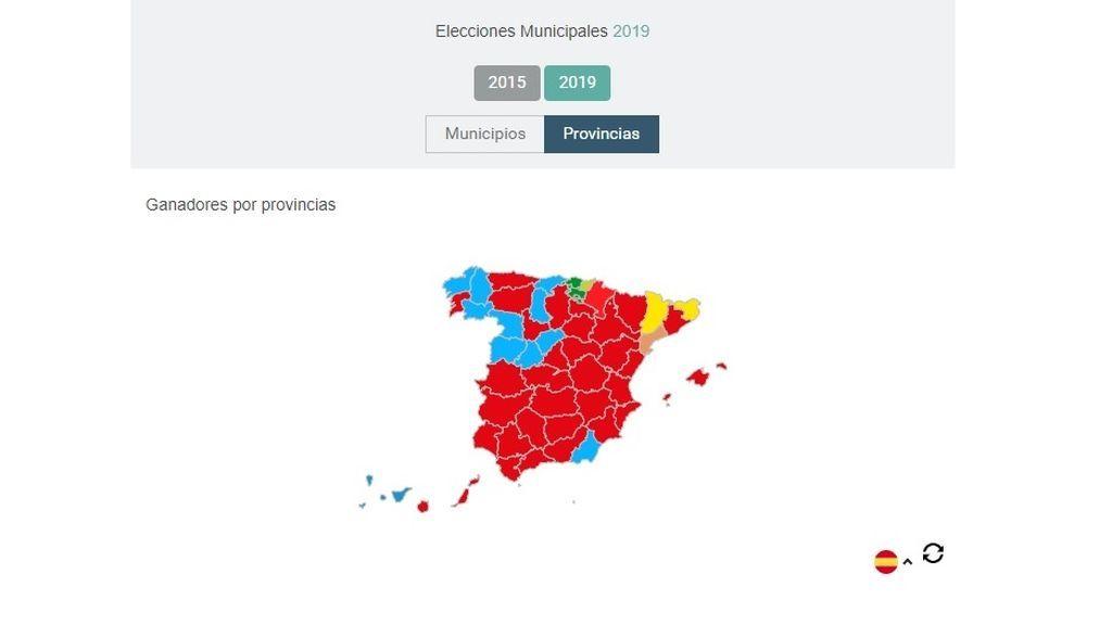 Resultados de las elecciones municipales del 26M