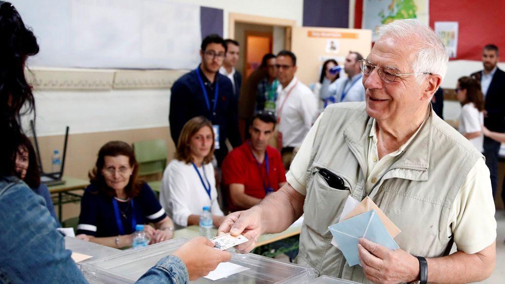 Borrell destaca la importancia del Parlamento Europeo en la jornada electoral