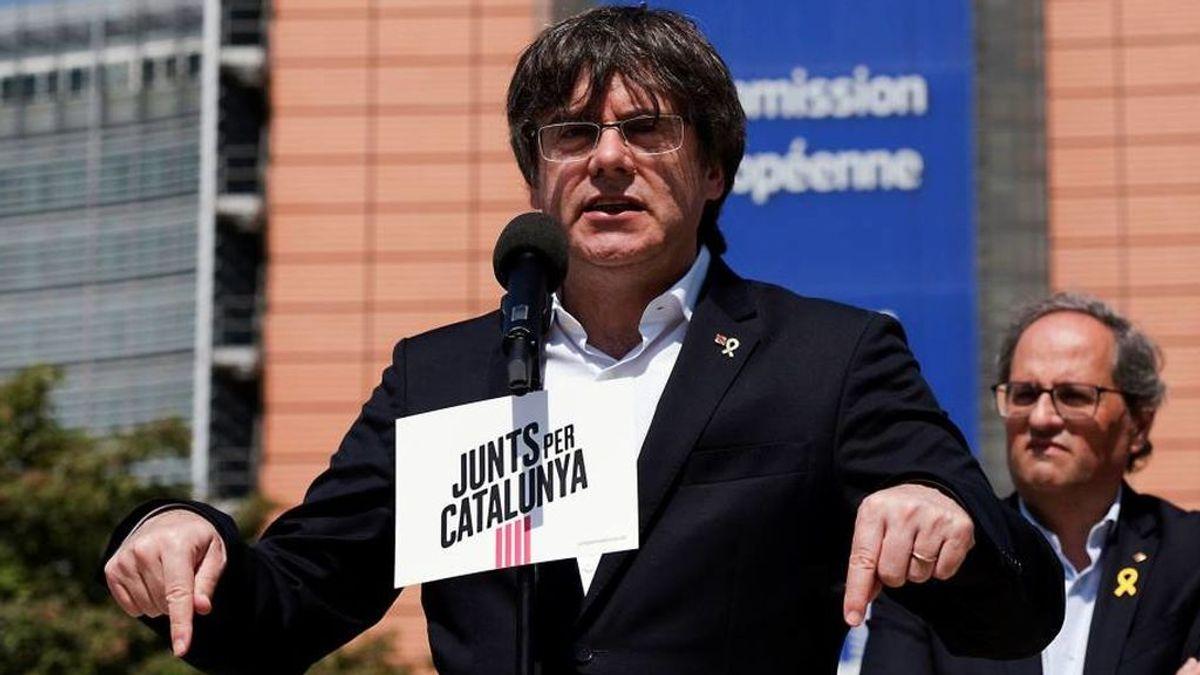 """Puigdemont no vota en las europeas: """"Mucha gente ha votado por nosotros"""""""