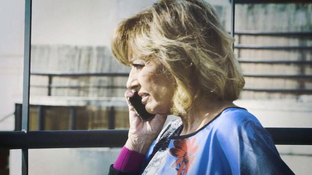 Mª Teresa Campos nos cuelga el teléfono cuando le preguntamos por la despedida de Terelu