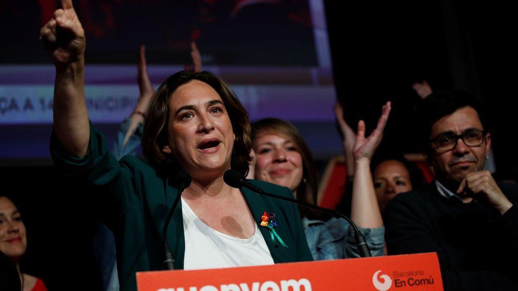 """Ada Colau: """"El resultado es clarísimo, Barcelona quiere que las fuerzas de izquierdas nos pongamos de acuerdo"""""""