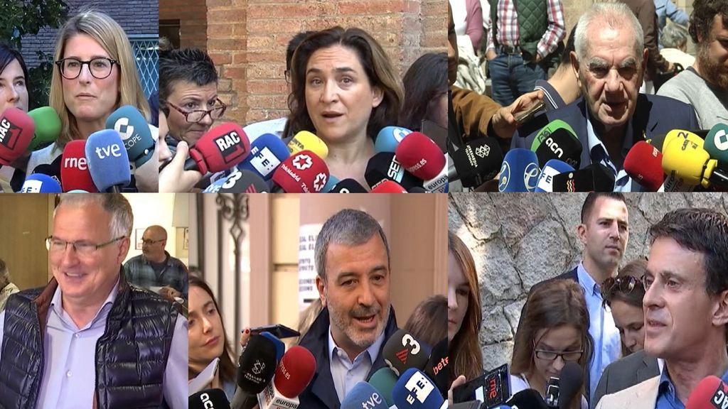 Incógnitas por la futura alcaldía de Barcelona: los candidatos necesitarían usar pactos para gobernar