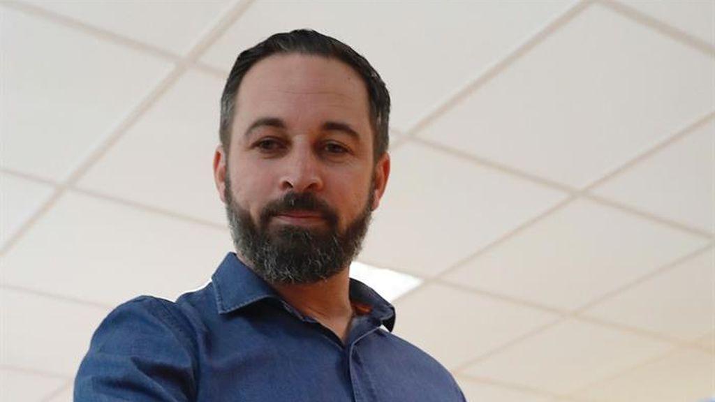 Santiago Abascal ejerce su derecho a voto