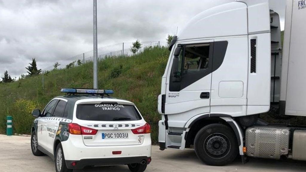 Interceptan a un camionero que sextuplicaba la tasa de alcohol en la AP-15