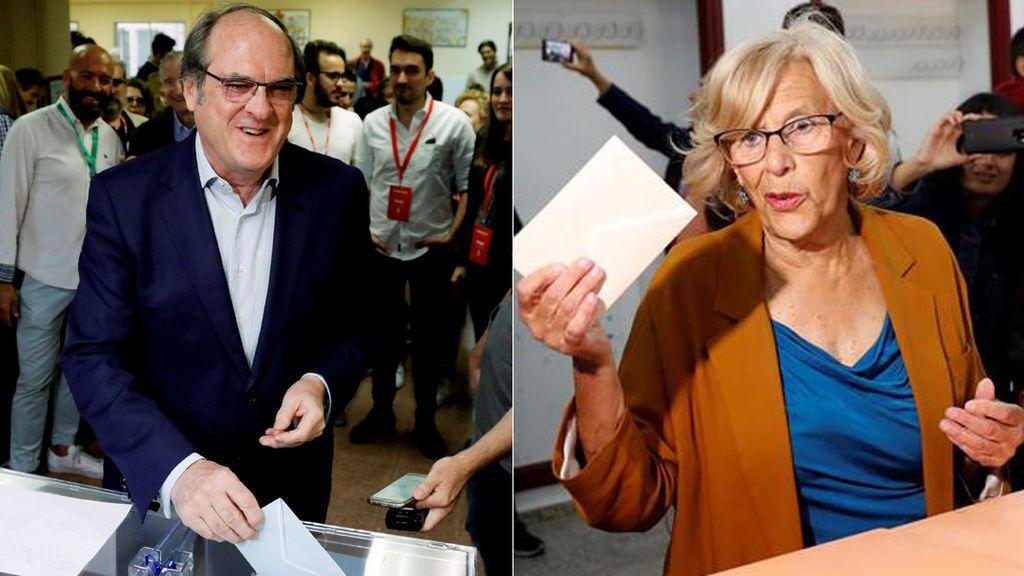 Carmena mantendría el Ayuntamiento y Gabilondo ganaría en la Comunidad de Madrid