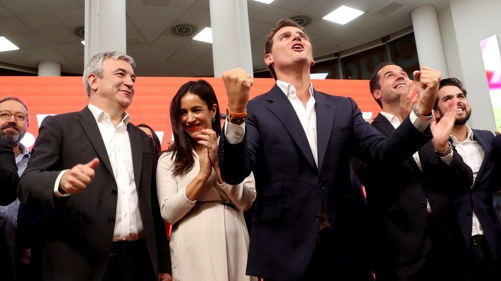 """Rivera envía un mensaje a Sánchez: """"La bandera de Madrid no es el populismo, es la libertad"""""""