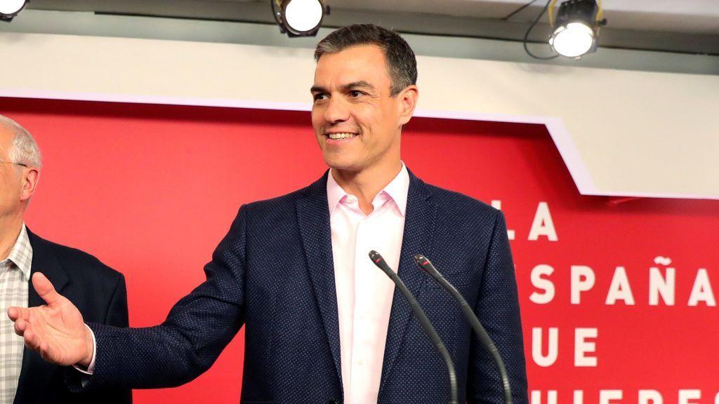 """Pedro Sánchez: """"Es hora de que se levante el cordón sanitario al PSOE y de aparcar a la ultraderecha"""""""