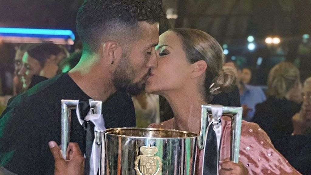"""La declaración de amor de Tamara Gorro tras el título del Valencia: """"Amo, amo y amo"""""""