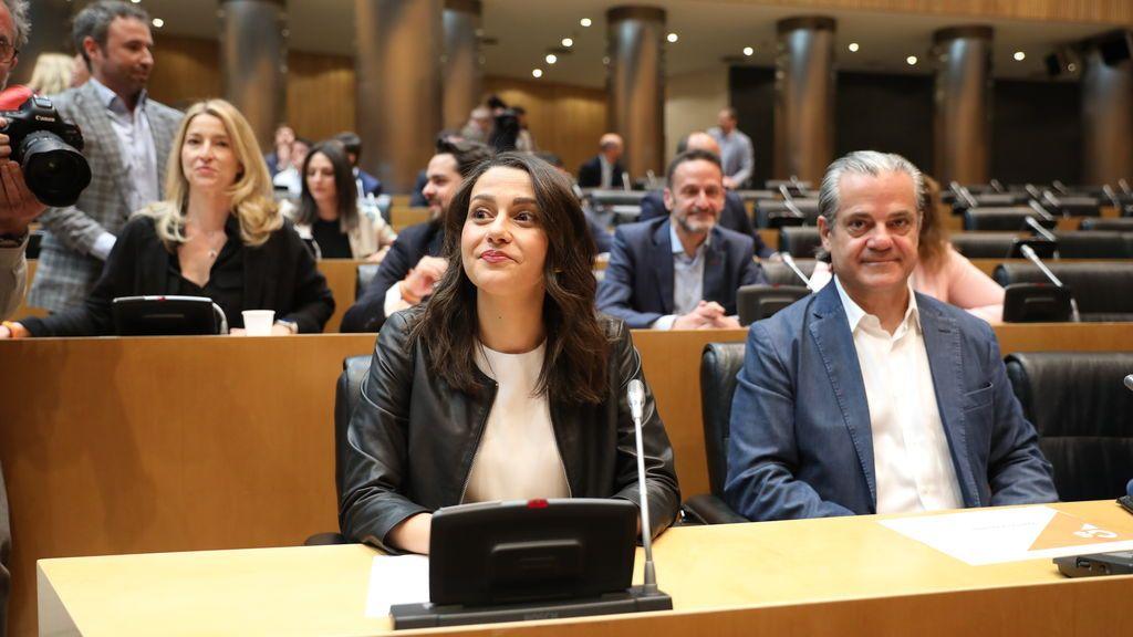 Inés Arrimadas será la portavoz de Ciudadanos en el Congreso