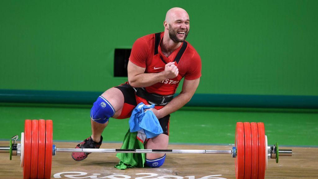 Nuevo caso de dóping: el halterófilo Nurudinov, oro olímpico en Río, descalificado de Londres 2012