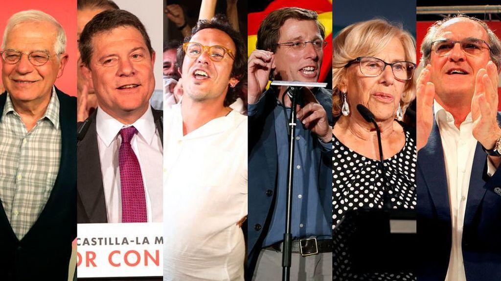 Amarga victoria del PSOE: Los ganadores y perdedores de la batalla del 26M