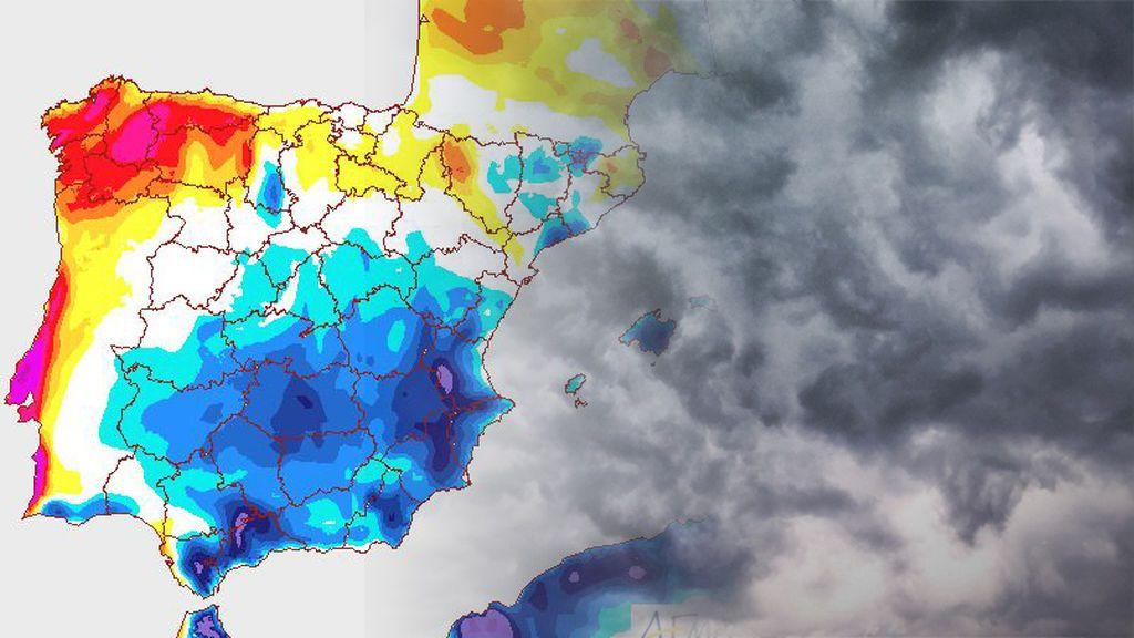 Tormentas a la vista: bache de temperaturas a partir del martes
