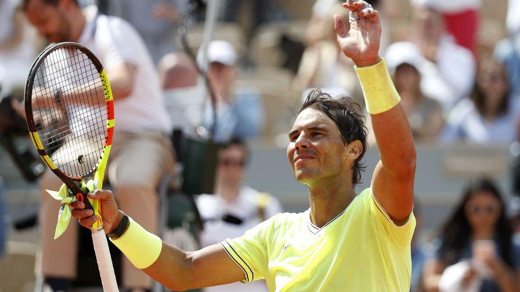 Rafa Nadal  gana por la vía rápida a Hanfmann y se mete en segunda ronda de Roland Garros