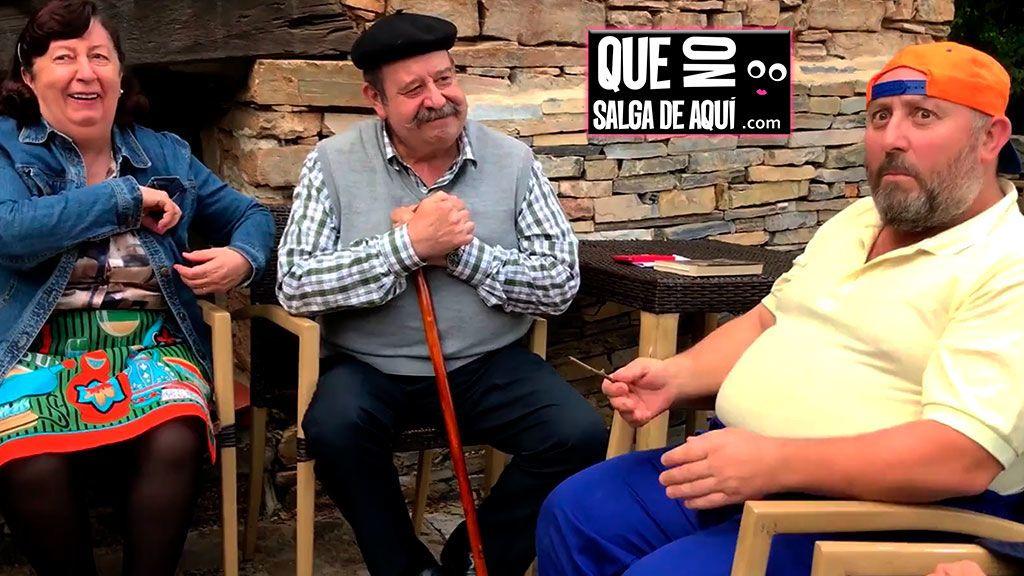 """""""¿Tas enfolliscao?"""": Los actores de 'El Pueblo' te enseñan a hablar con el lenguaje de moda entre los cómicos"""