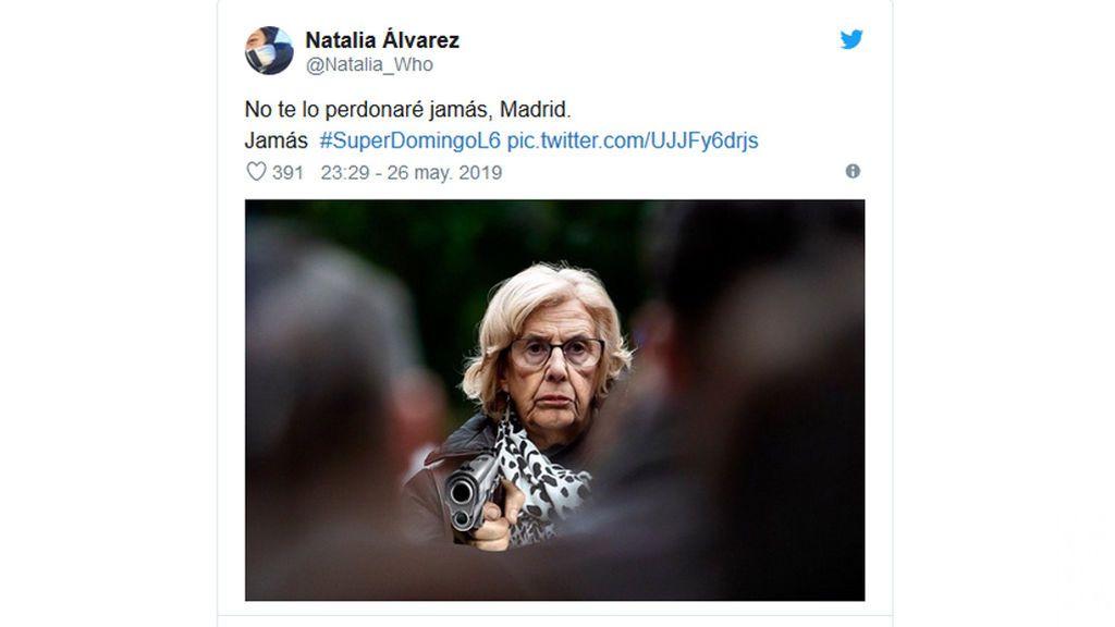 Memes en las redes por la marcha de Carmena