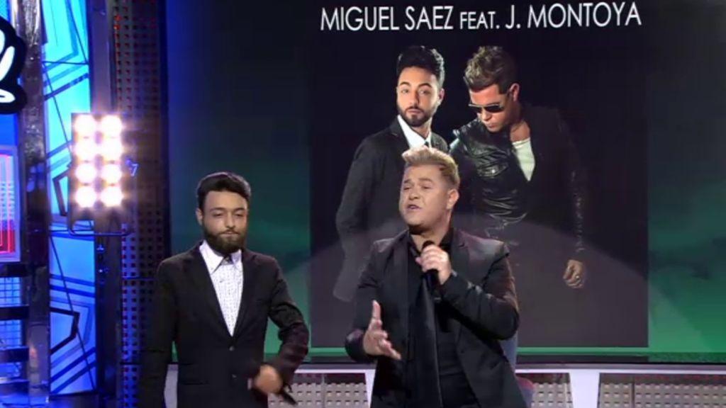 Miguel Sáez y J. Montoya interpretan su nueva canción tributo a Isabel Pantoja 'Una Gran Superviviente'