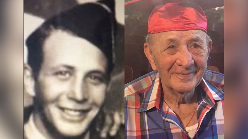 El sueño cumplido de dos veteranos de guerra de 95 y 85 años: graduarse en la universidad