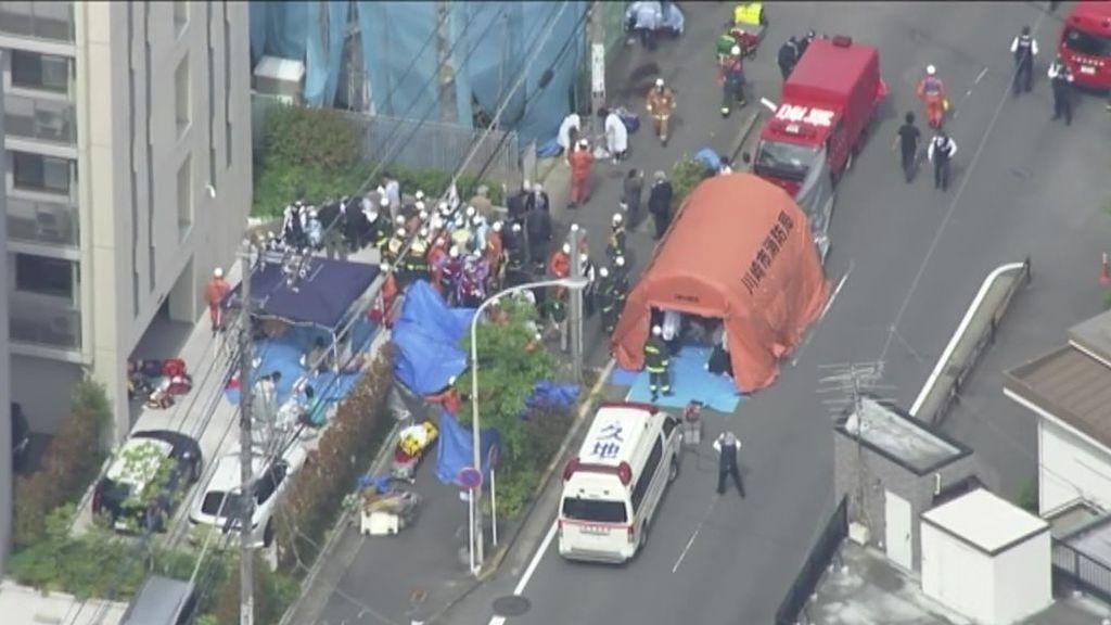Mueren dos personas y otras 16 resultan heridas tras ser apuñaladas en Kawasaki