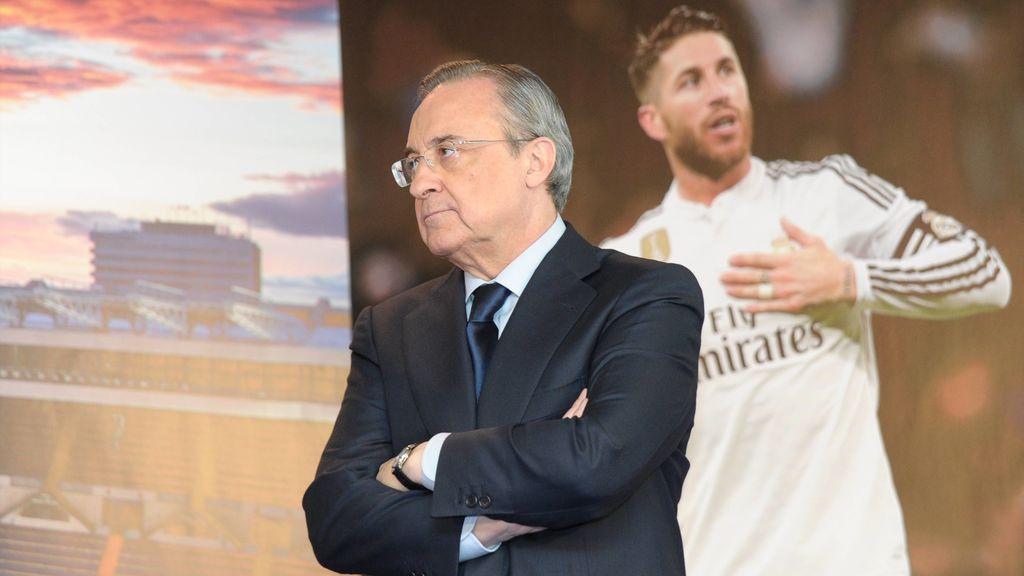 """Florentino Pérez: """"Es imposible que podamos dejar que Sergio Ramos se vaya gratis"""""""