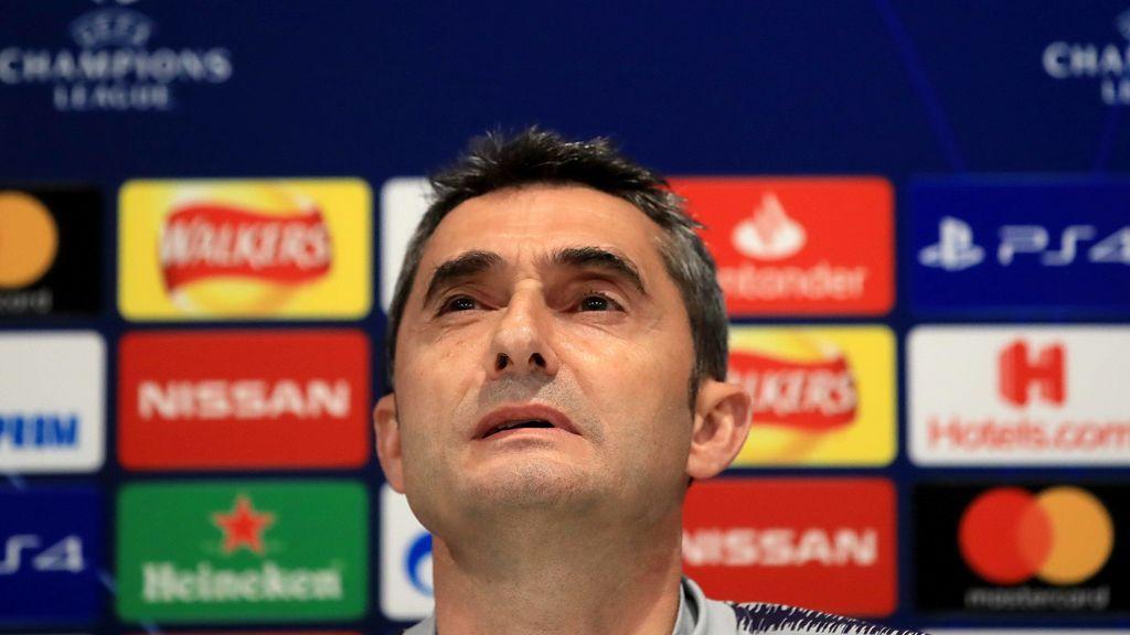 El Barça anunciará hoy la destitución de Ernesto Valverde, según 'RAC1'