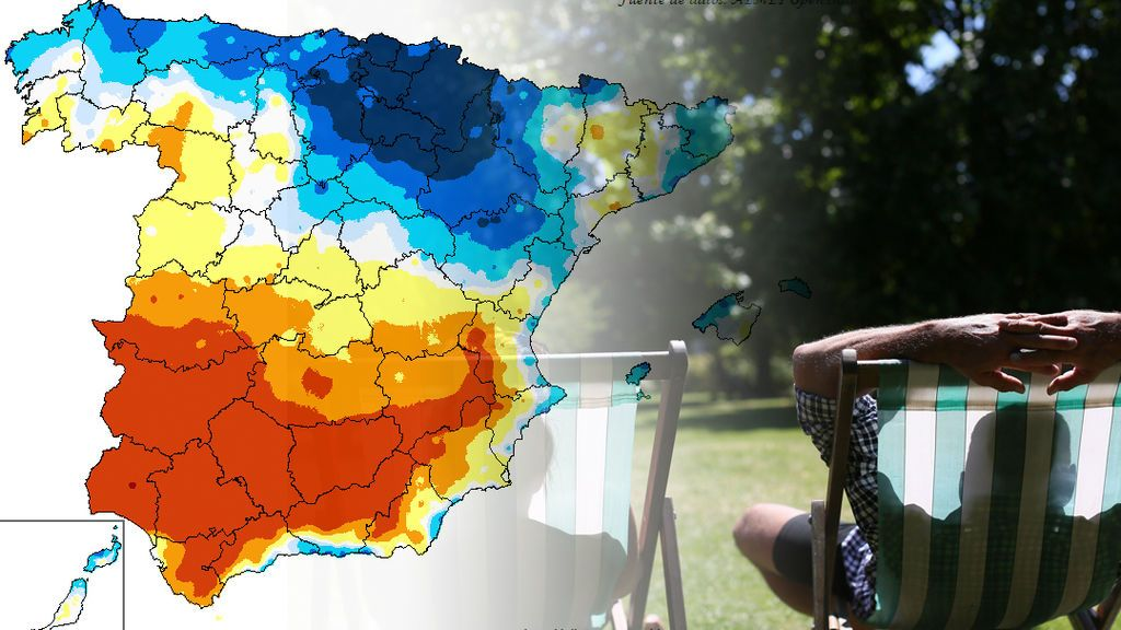 Hasta 23ºC de diferencia entre Pamplona y Sevilla: la culpa es de Europa