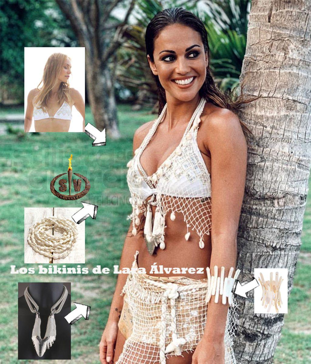 Los bikinis de Lara Álvarez (Supervivientes 2019)