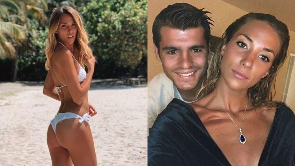 """La reacción de Morata al ver a su mujer Alice Campello en bikini: """"Virgen Santa"""""""