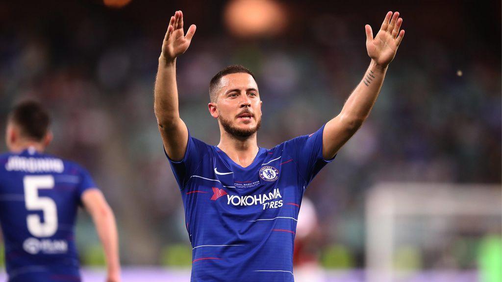 """""""Creo que es un adiós, ya he tomado la decisión"""", Hazard despeja las dudas sobre su futuro tras ganar la Europa League"""