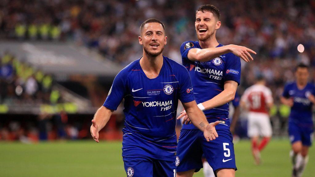 El Chelsea, campeón de la Europa League: Hazard se despide con un doblete y un auténtico recital (4-1)