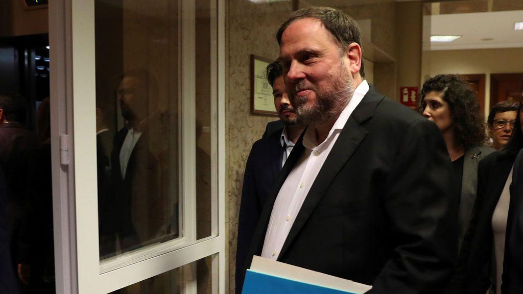 La Fiscalía mantiene la petición de 25 años de cárcel para Oriol Junqueras por rebelión