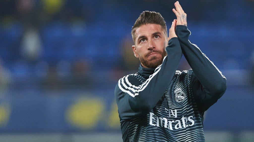 Sigue en directo la rueda de prensa de Sergio Ramos a las 17.30h.