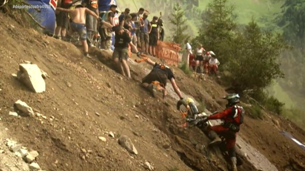 La mina de Erzberg: un español tiene que defender su liderato en una de las carreras más duras del mundo