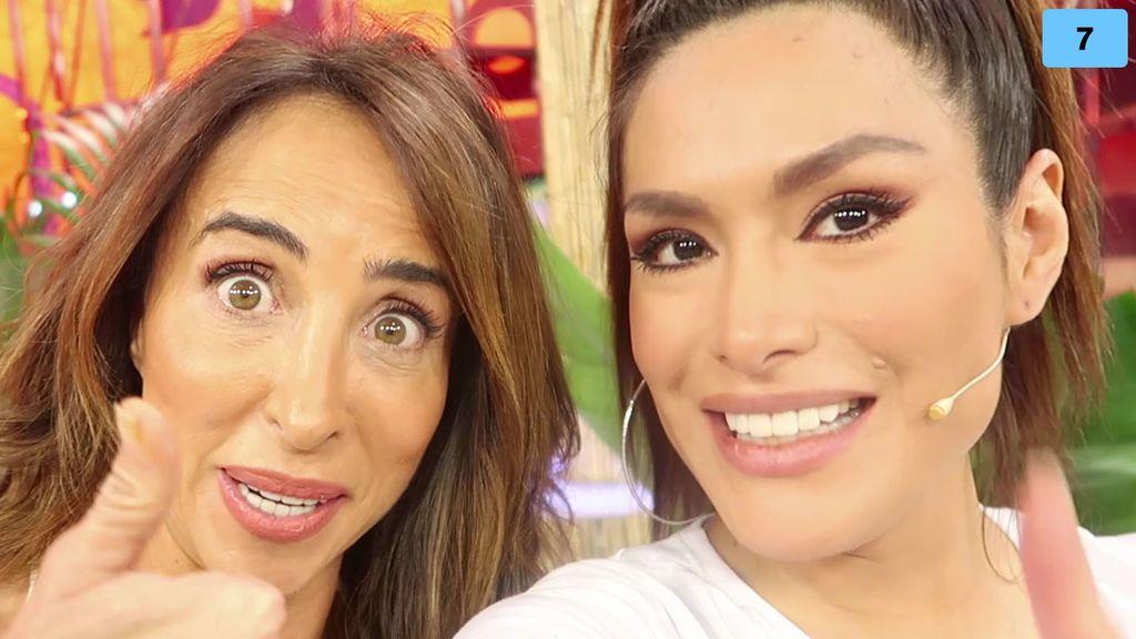 Lydia Lozano y María Patiño se enfrentan a las preguntas más picantes de Miriam Saavedra (2/2)