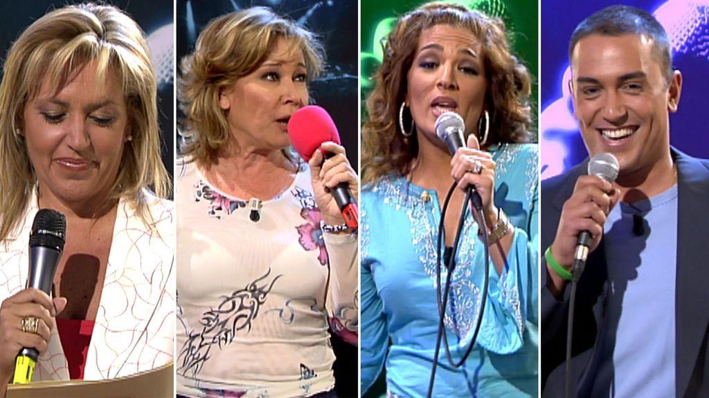 El casting musical de los colaboradores de 'A tu lado' en 2005