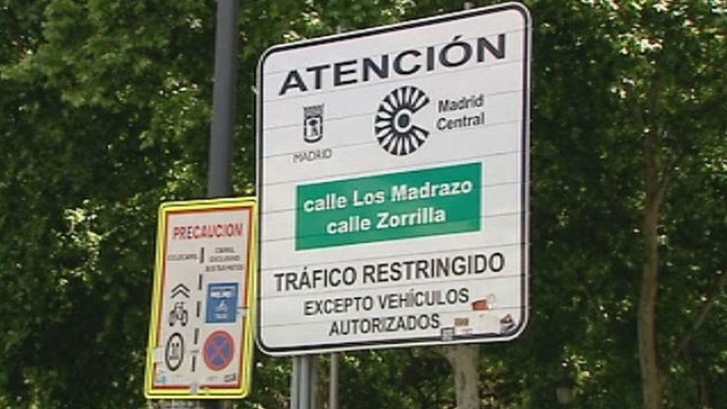 Recogen más de 40.000 firmas para no revertir Madrid Central