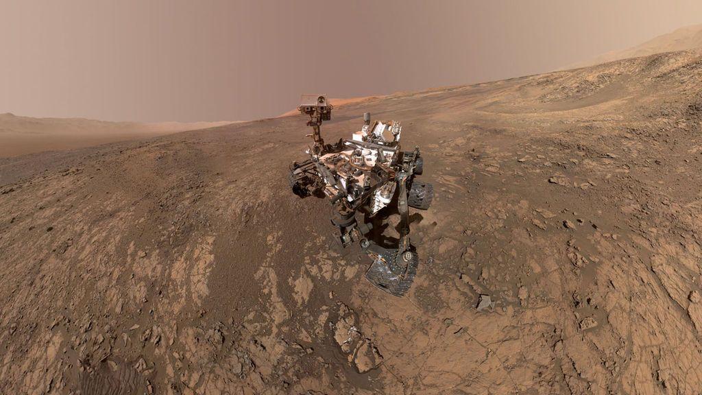 El rover Curiosity encuentra gran cantidad de arcilla en Marte