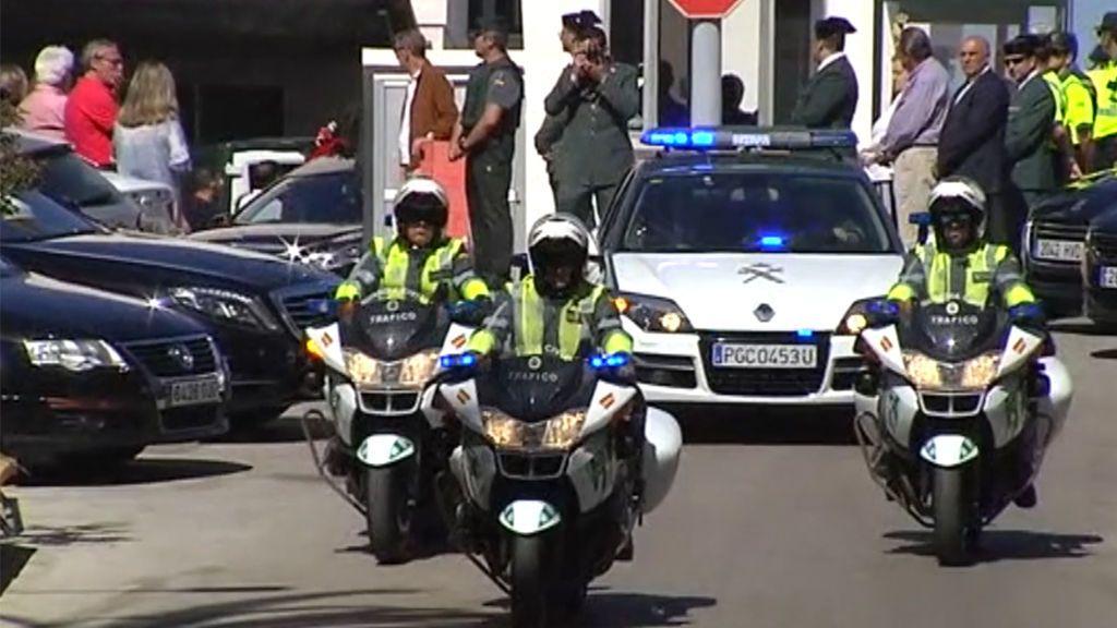 Sentido homenaje en Algeciras en el adiós al Guardia Civil fallecido durante una persecución