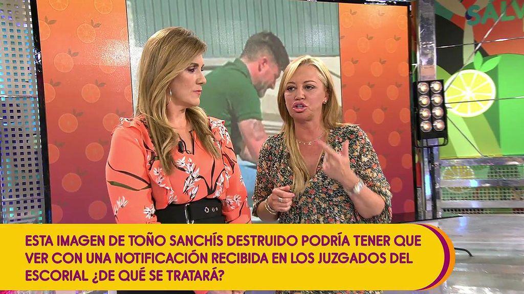 """Belén Esteban, a Toño Sanchís: """"No hagas que vaya la policía judicial y un cerrajero"""""""