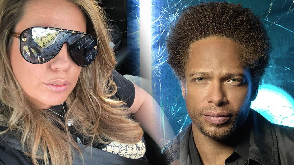 La presentadora se ha encontrado con el actor de CSI: Las ...